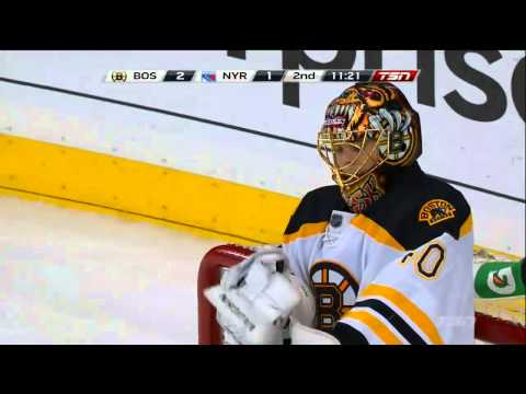 Carl Hagelin Fluke Goal on Tuuka Rask May 23rd 2013 NEW YORK RANGERS vs BOSTON BRUINS