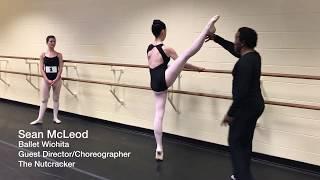 Ballet Wichita - 2017 Nutcracker Auditions - Karen Brown - Sean McLeod