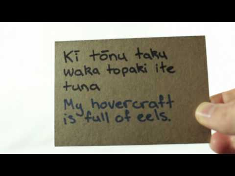 Whisper 100 - Māori Language Lesson. (Wear Headphones) - kiwiwhispers