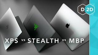 MacBook Pro vs XPS 13 vs Razer Blade Stealth - Which is the Best Laptop?