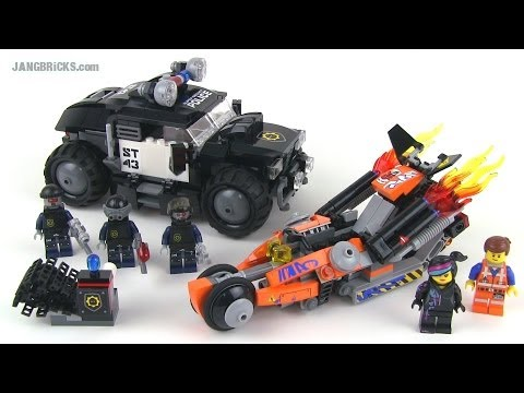 LEGO Movie set review - Super Cycle Chase 70808!