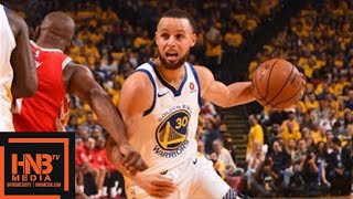 Golden State Warriors vs Houston Rockets 1st Half Highlights / Game 3 / 2018 NBA Playoffs