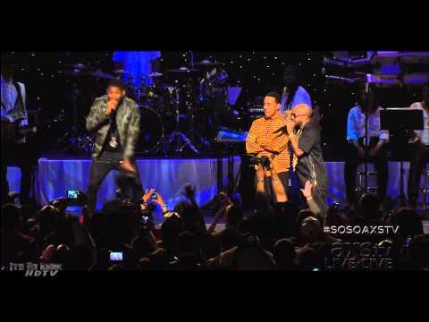 Ludacris, Usher & Lil Jon at the So So Def 20th Anniversary Concert