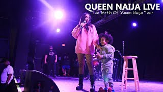 Queen Naija Performs 39 Mama 39 S Hand 39 39 Karma 39 Much More Live The Birth Of Queen Naija Tour
