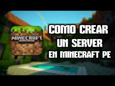 Como crear un server y jugar online en Minecraft Pocket Edition 0.9.5