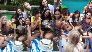 Download Lagu Selena Gomez celebrating the birthday of her friend Courtney Barry at her home in California Gratis STAFABAND