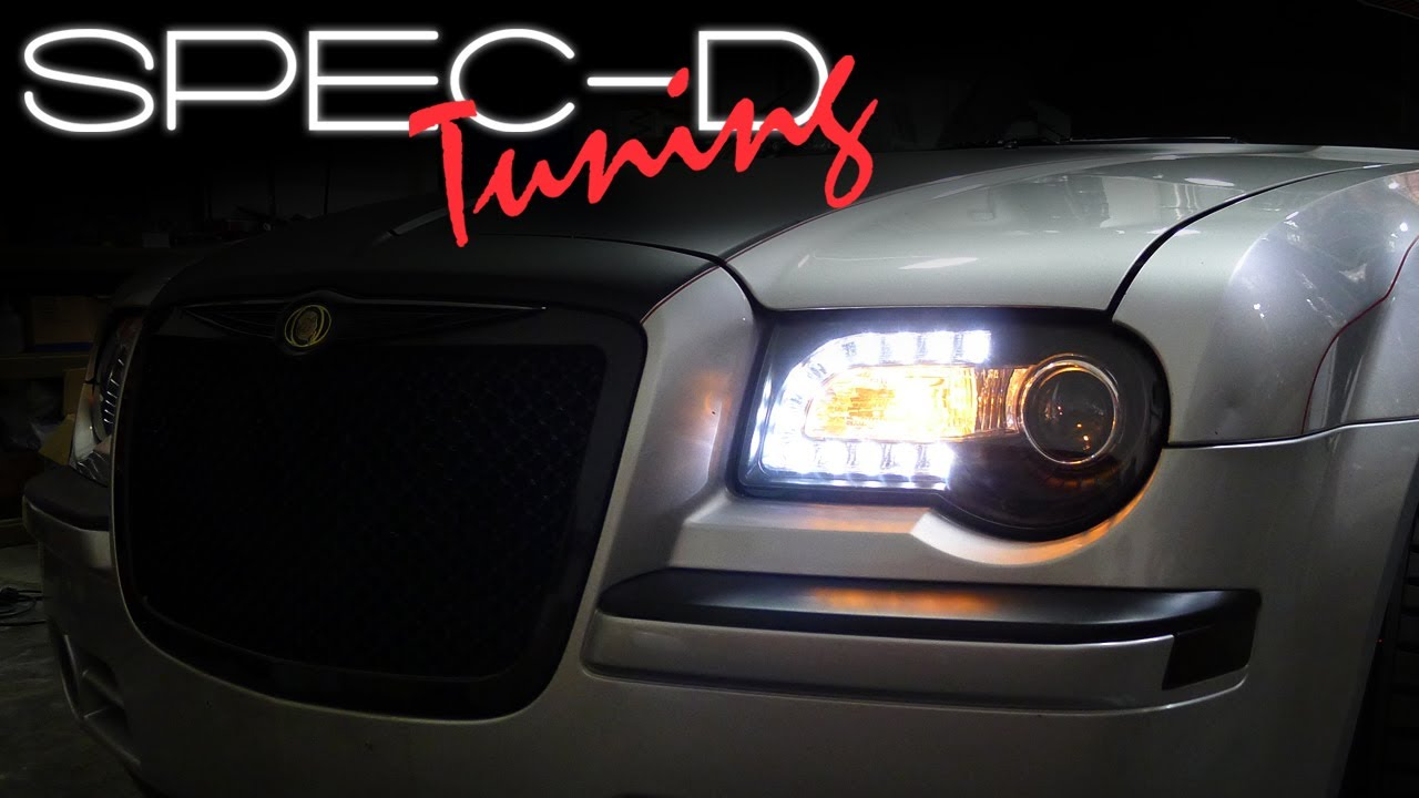 SPECDTUNING INSTALLATION VIDEO: 2005 - 2010 CHRYSLER 300C ...