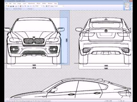 How to Make a Car in 3DS MAX - 1  Intro and Preparing the blueprints