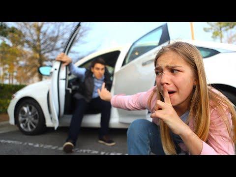 Перепутали машину на парковке