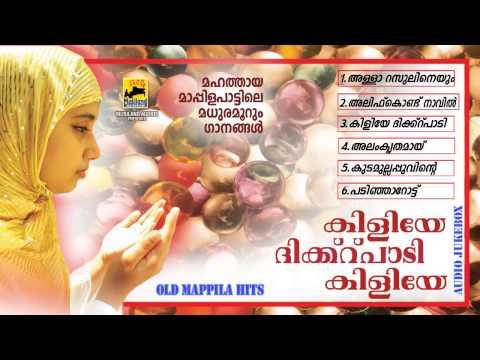 Mappila Pattukal Old Is Gold | Kiliye Dikr Padi Kiliye  | Malayalam Mappila Songs Jukebox video