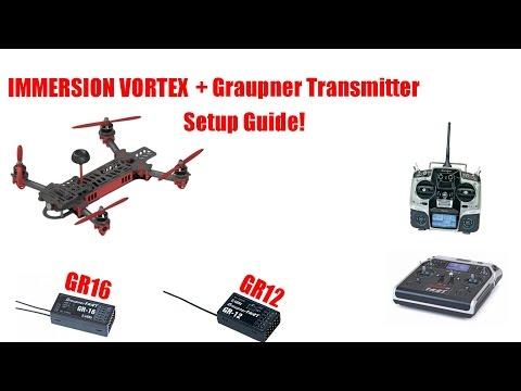 Graupner Hott transmitters and Immersion vortex setup guide