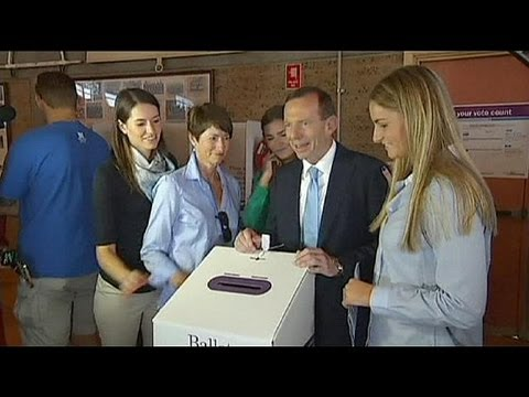 Australia: exit polls point to victory for opposition leader Tony Abbott.