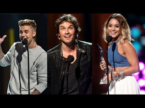 Young Hollywood Awards 2014 - Winners Complete List Justin Bieber, Ian Somerhalder, Vanessa Hudgens