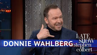 Being A TV Cop Didn't Get Donnie Wahlberg Out Of A Ticket