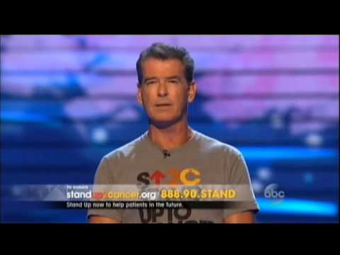 Pierce Brosnan - Stand Up To Cancer 2014