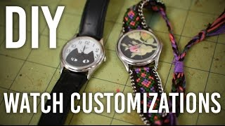DIY Customized Watches!