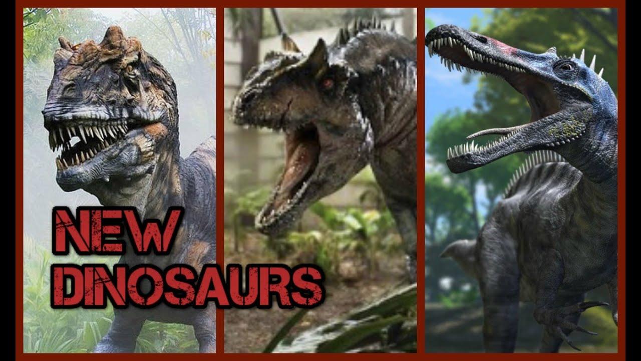 Jurassic World New Dinosaurs