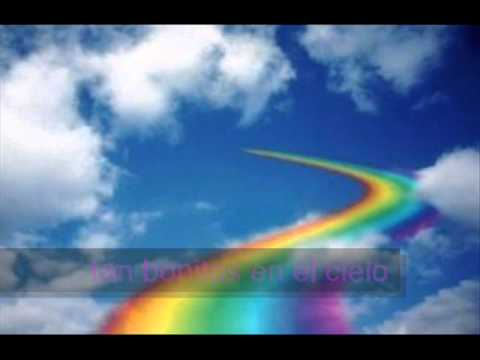 letra somewhere over the rainbow israel: