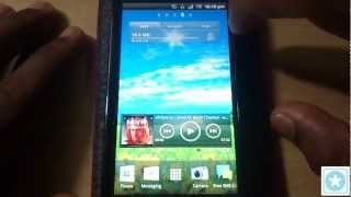 Sony Ericsson Xperia Neo V Detailed Review  Part 2 - User Interface