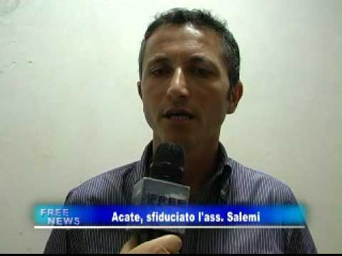 www.viscarani.it - Free Tv - Acate, sfiduciato l'ass. Salemi