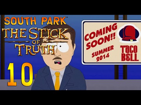 South Park Stick of Truth -10- TACO BELLLLLLL!