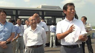 茨城県議会土木企業委員会県内調査(平成27年7月30日)