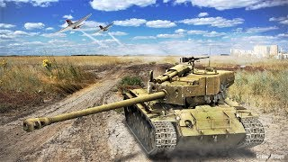 War Thunder: Super Pershing Slow But Steady!
