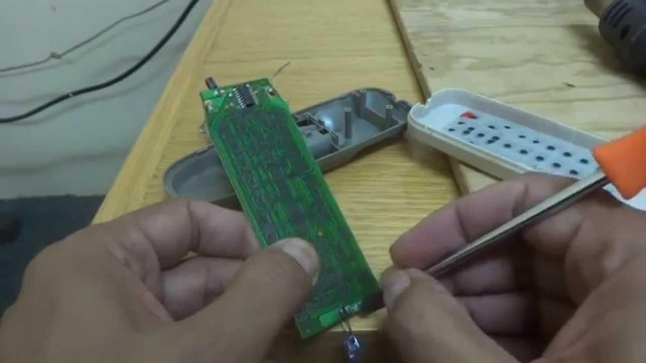 Remote Control Repair Youtube