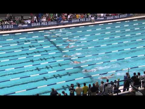 Men&#039;s 400m Freestyle Heat A Final - 2012 Indianapolis Grand Prix
