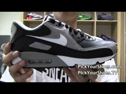 Nike Air Max 90 Black White Medium Grey 333888-008