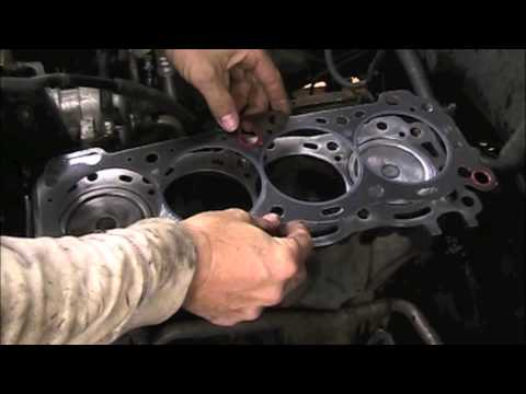 Isuzu cylinder head installation
