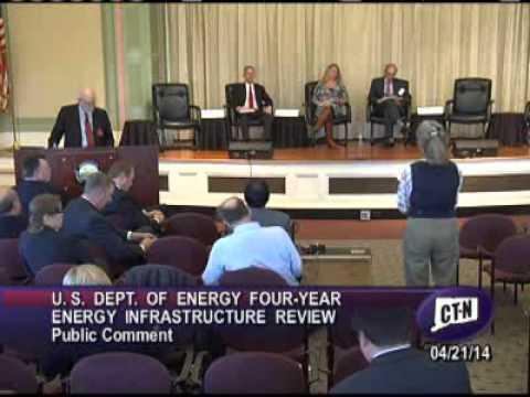 Public comment segment - 4pm on April 21 at Quadrennial Energy Review
