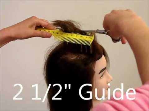 How To Cut Mens Layer Undercut Hair Tutorial Combpal