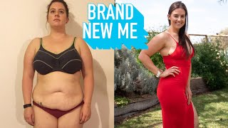 I Lost ½ My Weight To Wear My Dream Dress | BRAND NEW ME