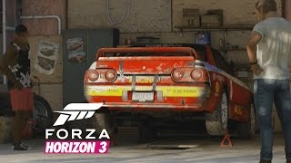 Forza Horizon 3 All 15 Barn Find Cutscenes 526