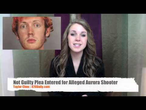 Not Guilty Plea Entered for Alleged Aurora Shooter