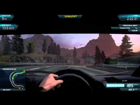 Need for Speed Most Wanted (2012) : McLaren F1 LM (DLC) - Cockpit View