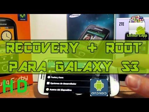 INSTALAR RECOVERY AVANZADO + ROOT EN SAMSUNG GALAXY S3 I9300 ANDROID