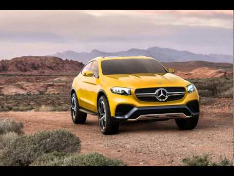 MERCEDES-BENZ GLC COUPE CONCEPT PREVIEWS A SMALL SUV CROSSOVER IN SHANGHAI