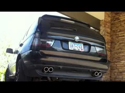 BMW X5 Magnaflow engine sound