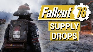 FALLOUT 76: Cosmetic Outfits, Event Quests, and NEW Supply Drops Info!! (Fallout 76 News)