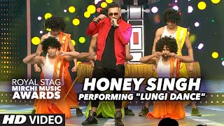 Honey Singh Energetic Performance On 34 Lungi Dance 34 At The Royal Stag Mirchi Music Awards 2016