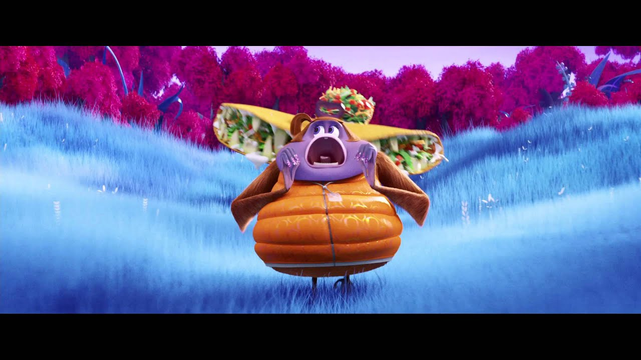 A Chance Of Meatballs 2 Cloudy With Foodimals Wallpaper