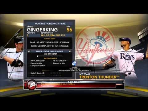 Lets Play Mlb 2k12: Pitcher Episode 1 video