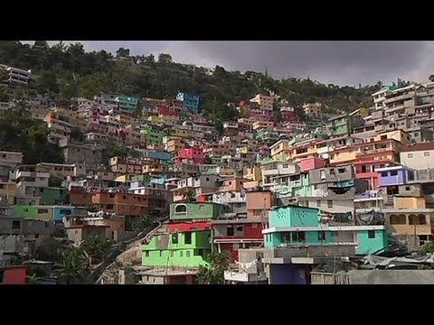 Haiti gets colourful makeover - no comment
