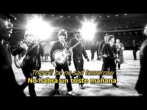 There's a place - The Beatles (LYRICS/LETRA) [Original]