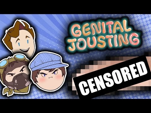 Genital Jousting - Steam Train thumbnail