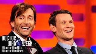 MATT SMITH & DAVID TENNANT Answer Whovian Fans