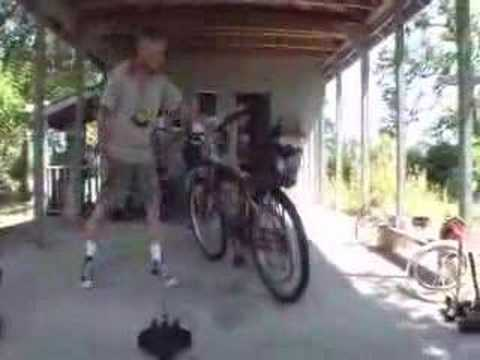 Fuel Efficient Motorized Bicycle - 250 mpg