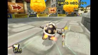Mario Kart Wii: Morton Koopa Jr. (on foot) - VS Race.